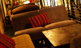 lounge area of salud mexican kitchen